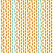 BRUSHSTROKES orange_aqua