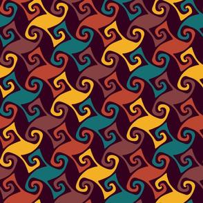 moroccan trellis - bold