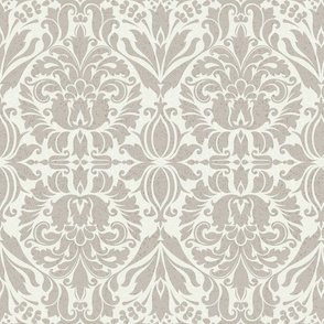 Shaded Damask neutral mix