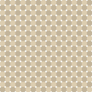 Beige Dots