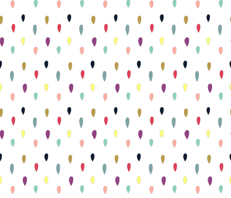 Drops of Magic fabric by nicibrockwell on Spoonflower - custom fabric