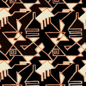 Abstrakte Komposition 1a