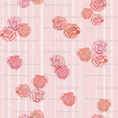 Romantic Roses Wallpaper