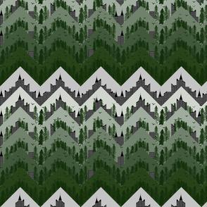 deforestation forest chevron
