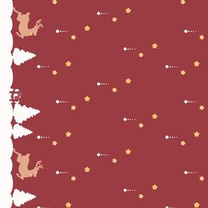 Winter Wonderland Red