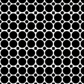 B&W Large Black Dots