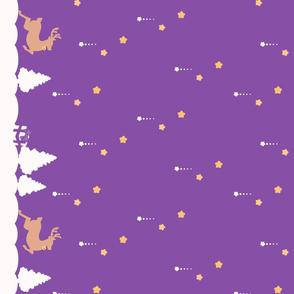 Winter Wonderland Purple