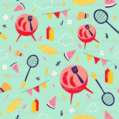 Little Backyard Cookout