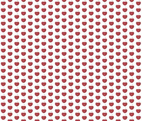 Cherry cherry pits fabric by kae50 on Spoonflower - custom fabric