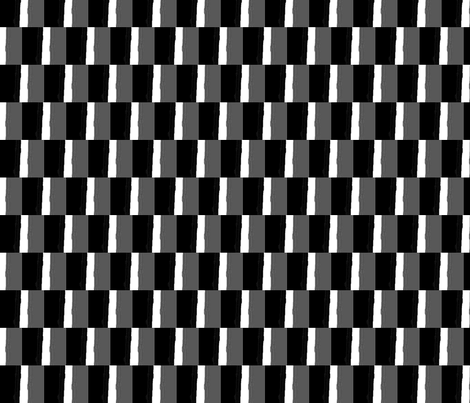 black and white metal fabric by jasminenotyourgeneration_ on Spoonflower - custom fabric
