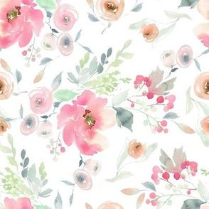 """8"""" Pink Sugar Blooms"""