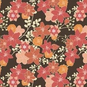 Old Rose Spring Floral