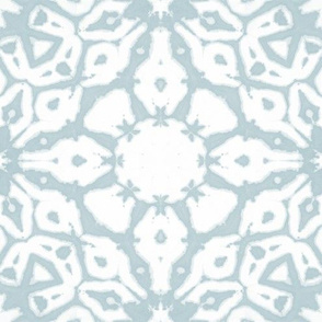 shibori starflowers iceblue