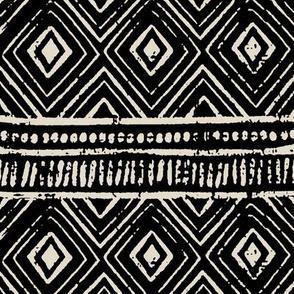 Mud Cloth // Black & Bone // Small