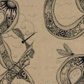 Ampersand doodling