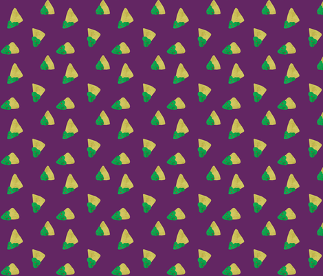 Guacamole! Chips fabric by scarlette_soleil on Spoonflower - custom fabric