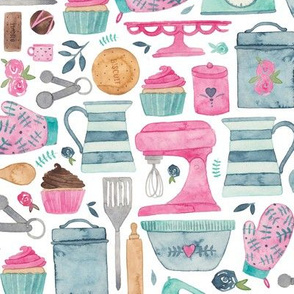 Baking, kitchen pattern!