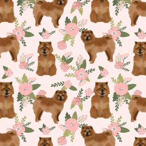 chowchow pet quilt d dog breed nursery quilt coordinate floral