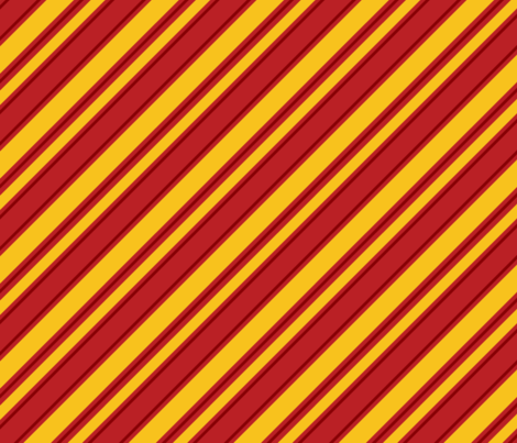 House Stripe - Red fabric by ejrippy on Spoonflower - custom fabric