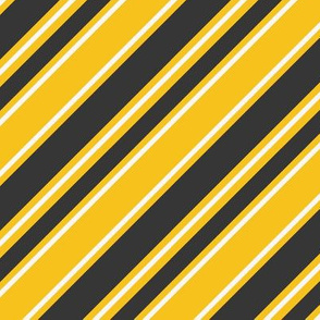 House Stripe - Yellow