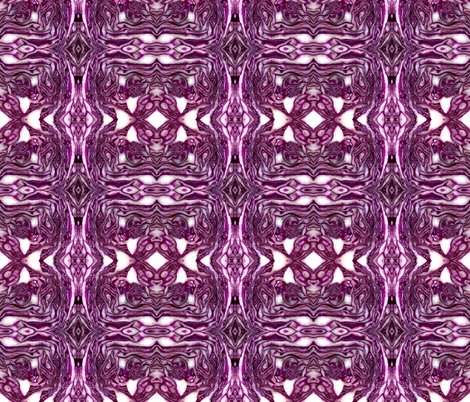 red cabbage fabric by hypersphere on Spoonflower - custom fabric