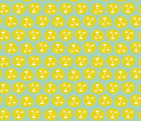 sunny fabric by kimmurton on Spoonflower - custom fabric