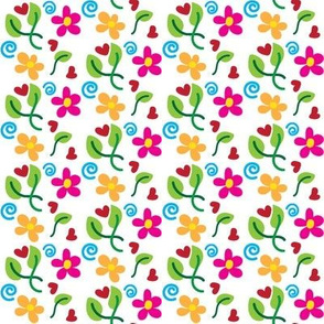 Spring Love White