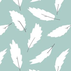 leafs - mint
