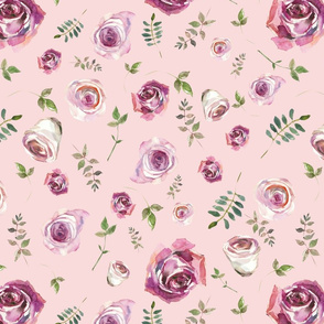 Dusty Roses Pink