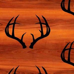 Deer Antlers // Red Cherry // Large