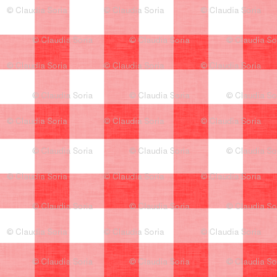 Checker - Red Texture