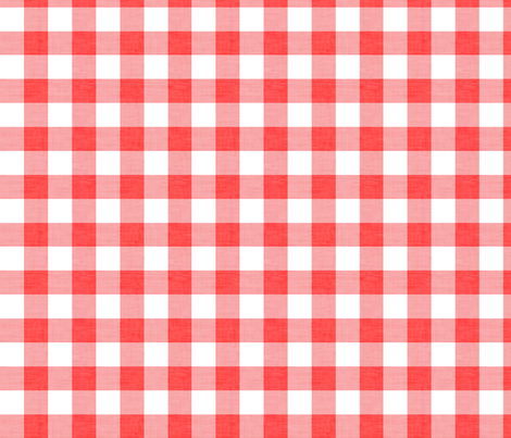 Checker - Red Texture fabric by kimsa on Spoonflower - custom fabric