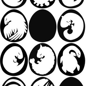 Dinobabies eggs