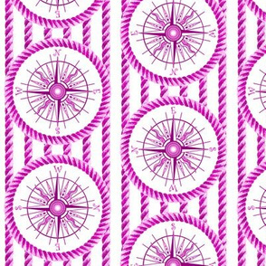 wind rose and rope magenta