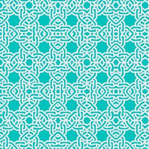 Teal turquoise moroccan tile modern tile links
