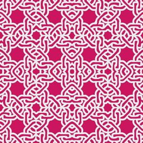Fuschia magenta moroccan tile mexican tile