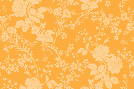 Bridal Suite citrus  fabric by lilyoake on Spoonflower - custom fabric