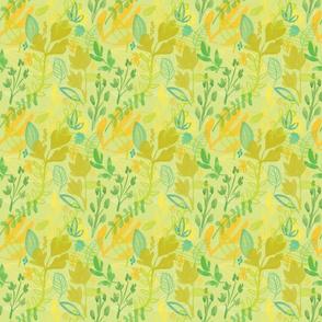 Lemon Cilantro Pattern 3in sq