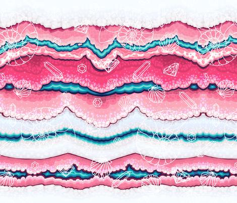 Crystal_Tombs fabric by cmykaleidoscope on Spoonflower - custom fabric