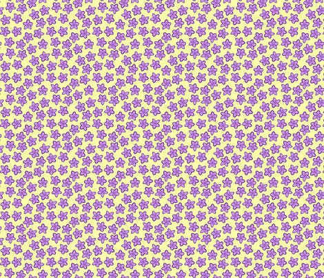 Flowers-purple-on-yellow_shop_preview