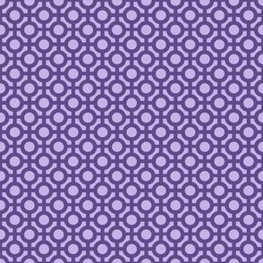 Ultraviolet Feminine Knot - Small
