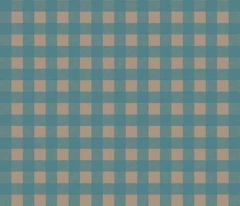 Gingham-teal-tan_shop_preview