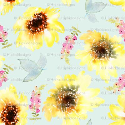 """8"""" Sunflower Garden"""