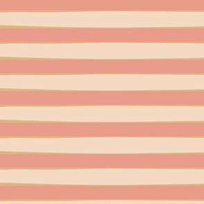 Peach Stripe