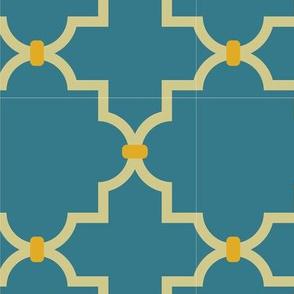 Mom Geo Pattern Spoonflower