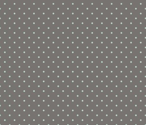 Small Dot - Aqua, Clay fabric by fernlesliestudio on Spoonflower - custom fabric