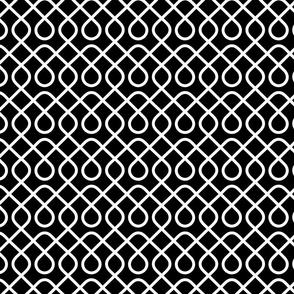 Black and White Loopty Loop