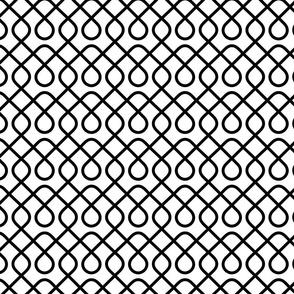 Loopty Loop Black and White