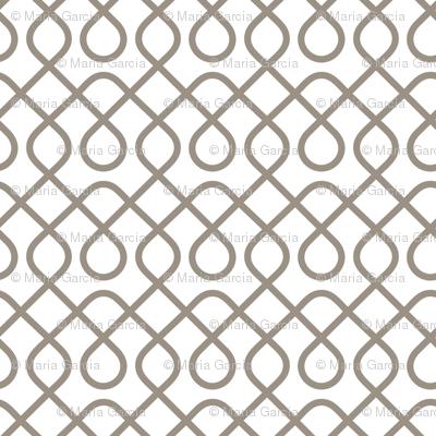 Loopty Loop Warm Grey