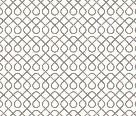 Loopty Loop Warm Grey fabric by mariafaithgarcia on Spoonflower - custom fabric